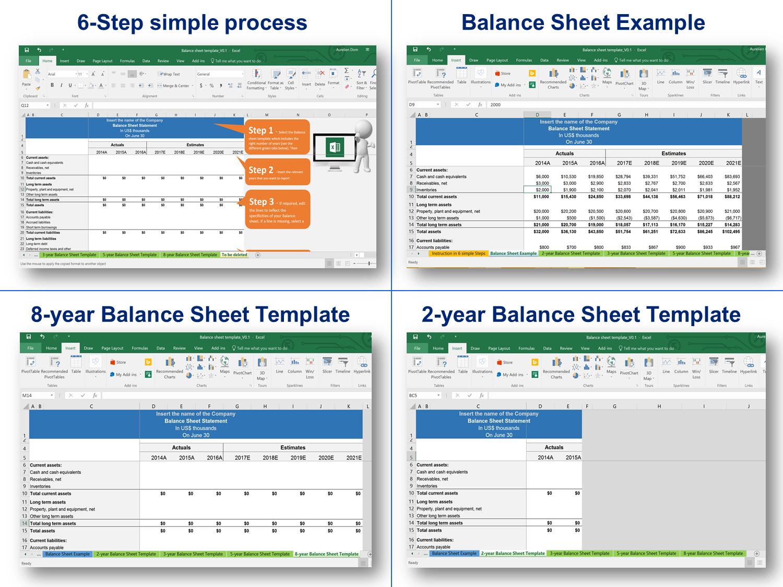 Balance Sheet Income Statement Cash Flow Statement Templates Balance Sheet Balance Sheet Template Cash Flow Statement