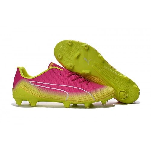 Puma evoPOWER 1.3 FG Kopacke Pink Yellow White Prodaja  17a1cb68a7