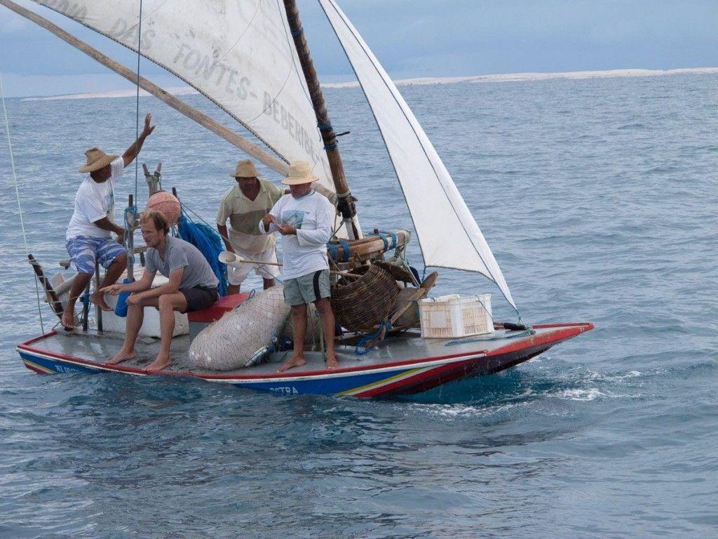 Pescadores na Jangada