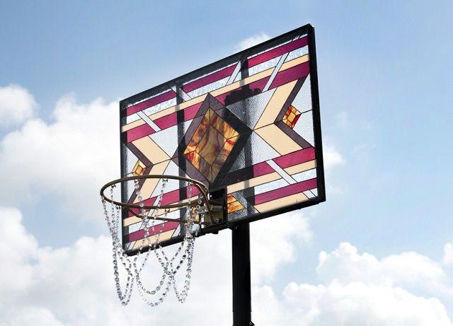 世界で一番美しいバスケットゴール見つけたよ Roomie ルーミー Making Stained Glass Interactive Art Installation Stained Glass