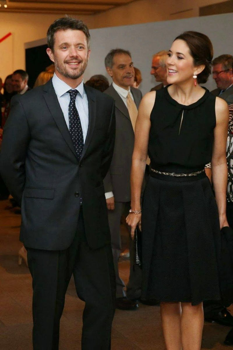 Crown prince frederik and crown princess mary on the second day of