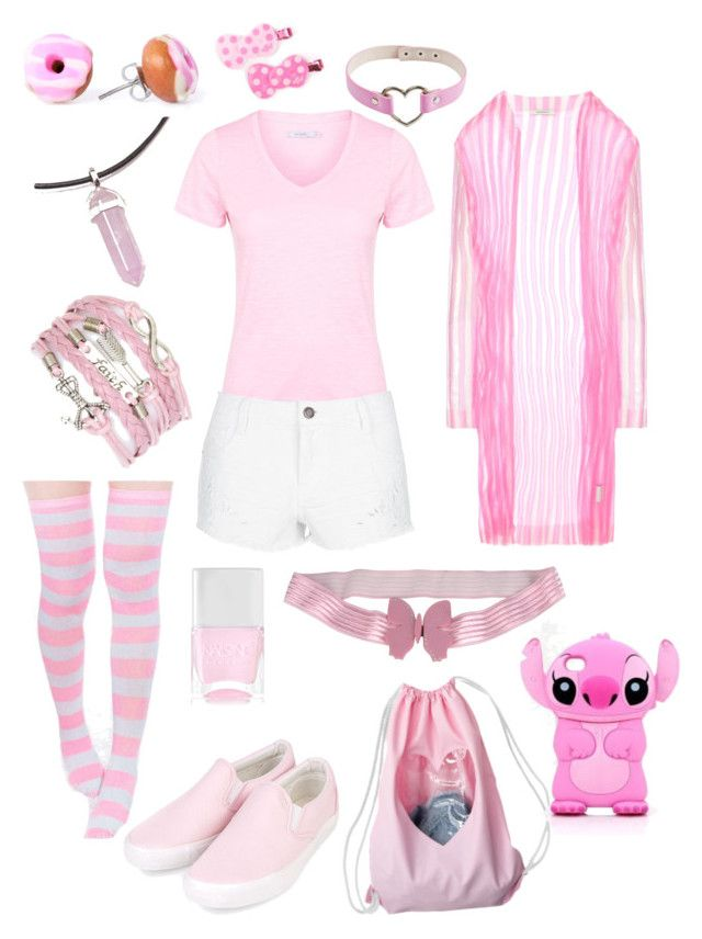 Pink Harajuku by mersunflower on Polyvore featuring John ...  Irene
