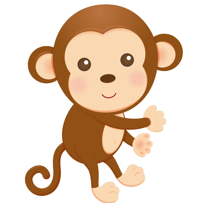 Объемным, обезьянки картинки нарисованные