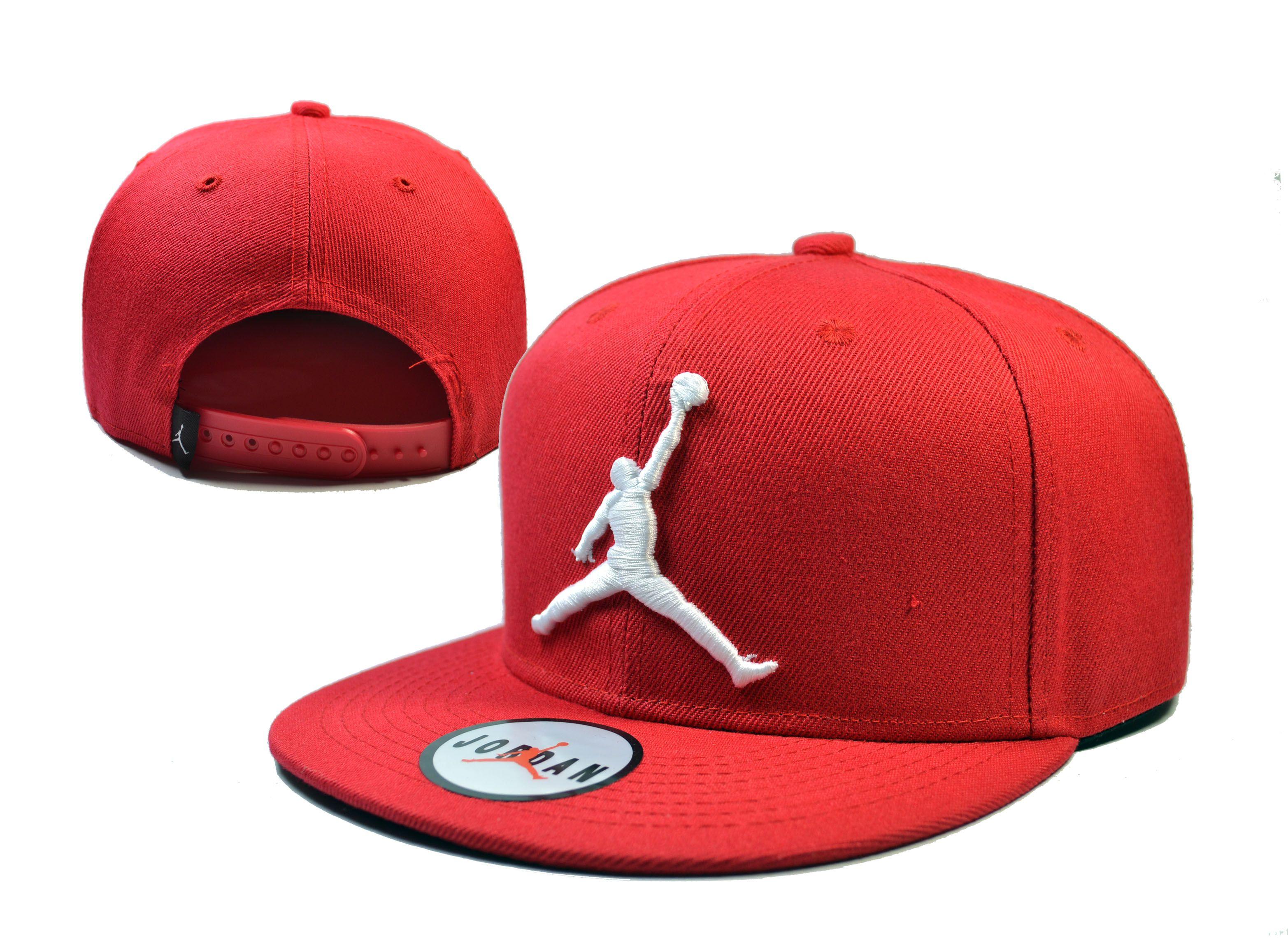 detailed look dc110 8363b Jordan Snapback Hats Red 157