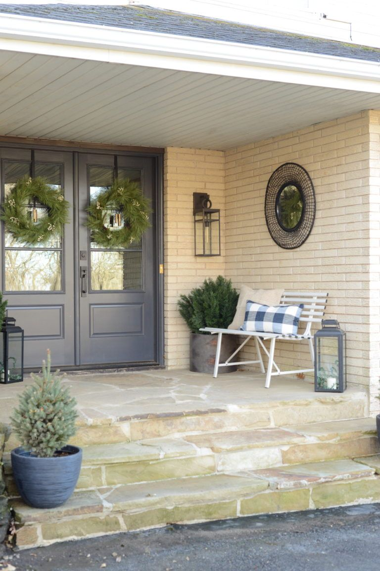 Modern Front Porch Makeover Front Porch Makeover Modern Front