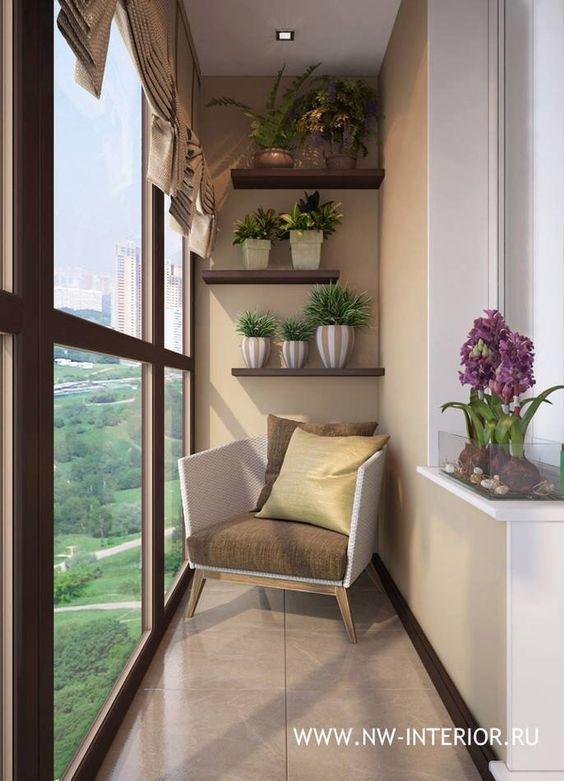 Ideas para balcones modernos balc n moderno balcones y for Decoracion balcon departamento