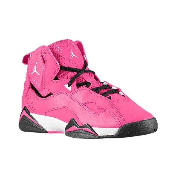 e6ab4a1be40ed7 Jordan True Flight Girls  Grade School ( 95) ❤ liked on Polyvore featuring  shoes