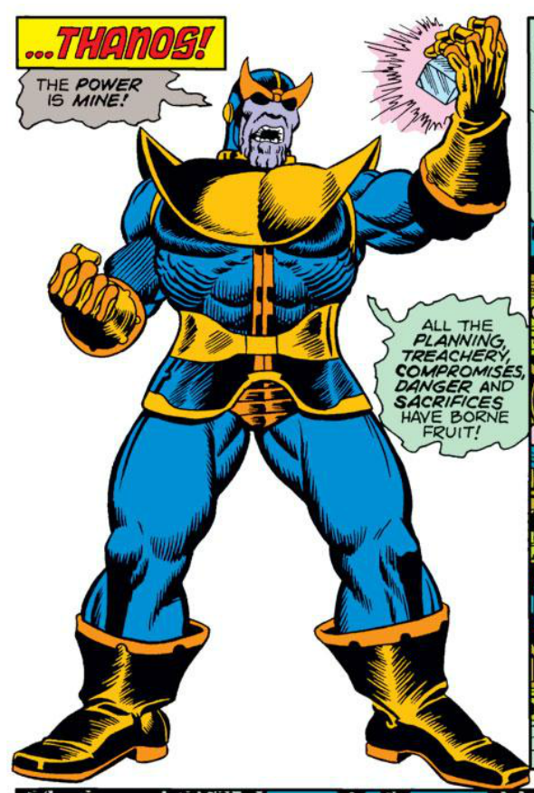 Panel Gallery Thanos Marvel Characters Art Superhero Comic Marvel Comic Character