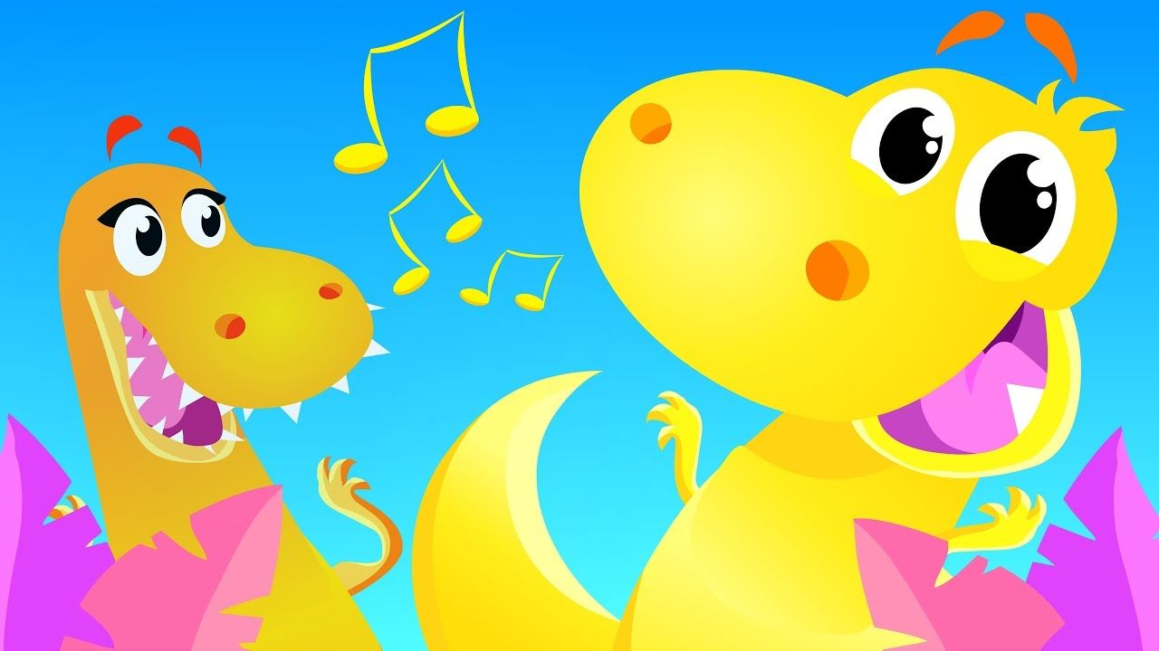 The Dinosaur Dance | Kids Songs | by Little Angel | Kids ...