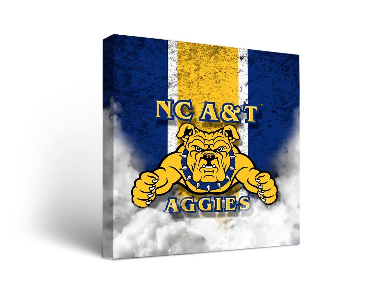 North Carolina A T Aggies Victory 2x4 Cornhole Set Vintage