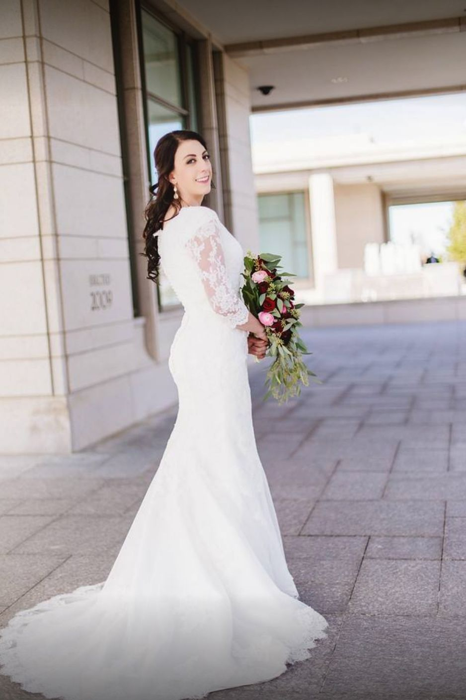 Contemporary And Modest Wedding Dresses From Exclusive Designers