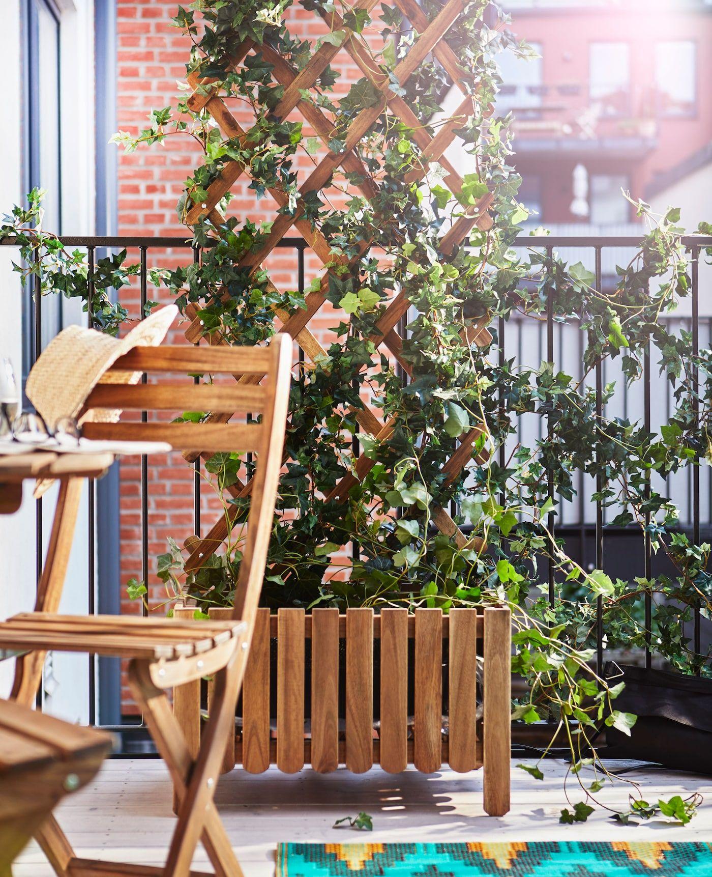 Balkon abschirmen: 3 tolle Ideen