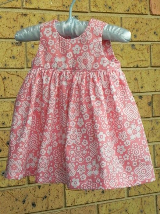 233850901046d free sewing patterns for baby girls | One of the changes I made to ...