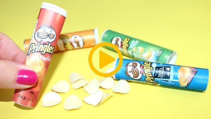 DIY American Girl Doll Pringles Chips