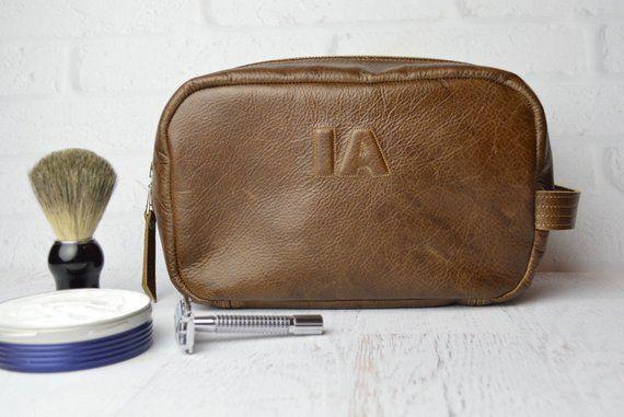 bc77480a1567 Monogram Dopp Kit   Shaving Bag   Toiletries   mens   toiletry bag   bags    cases   personalized men