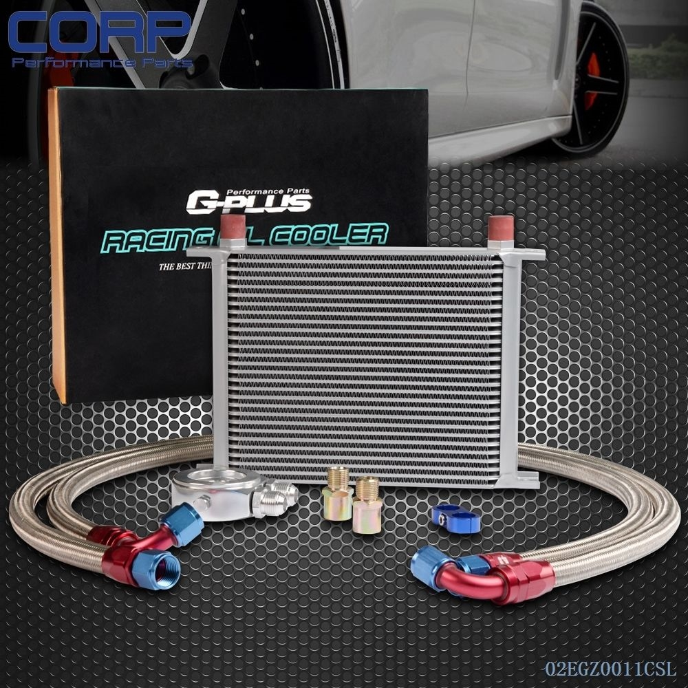 (79.29$)  Buy here - http://ai2gu.worlditems.win/all/product.php?id=1823743231 - 28 Row AN-10AN Universal Engine Transmission Oil Cooler + Filter Adapter Kit