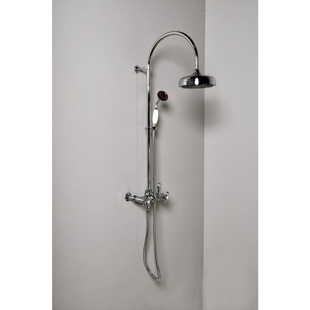 Wall Mount Shower Set With Handheld Shower Shower Set Shower Tile Hand Held Shower