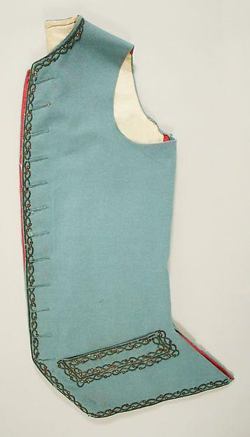 Suit Date: ca. 1780 Culture: British Medium: wool
