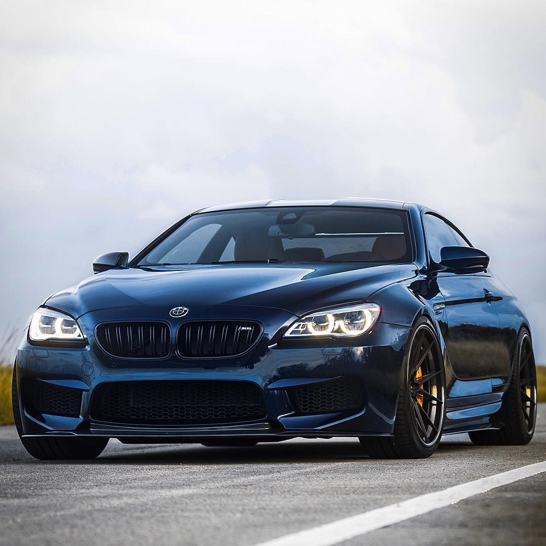 bmw m6 f13 from 2016 in tanzanite blue with adv 1 wheels. Black Bedroom Furniture Sets. Home Design Ideas