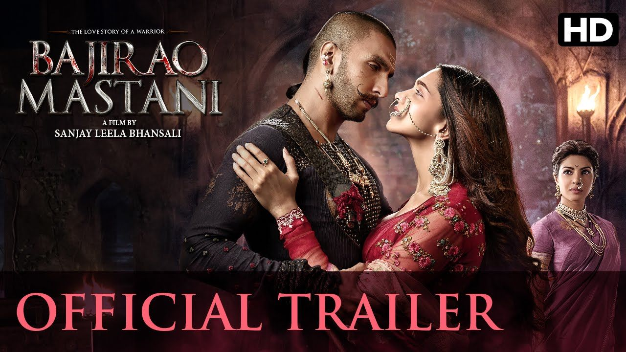 Bajirao Mastani Official Trailer Ranveer Singh Deepika Padukone Priyanka Chopra Bollywood Movie Trailer Mastani Ranveer Singh