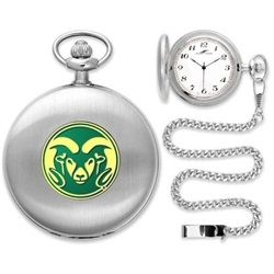Colorado State Rams Pocket Watch