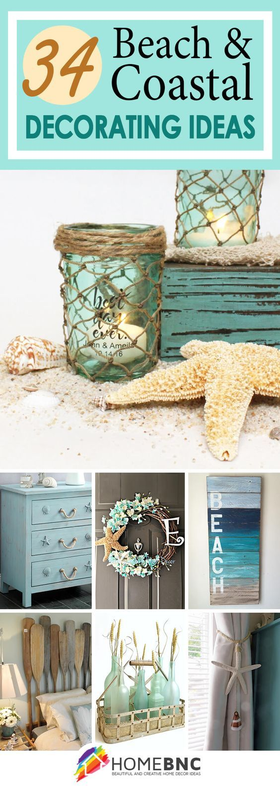 34 Beach And Coastal Decorating Ideas You'll Adore
