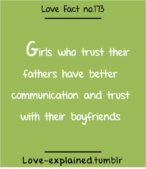 love facts trustfatherboyfriendgirlfriend