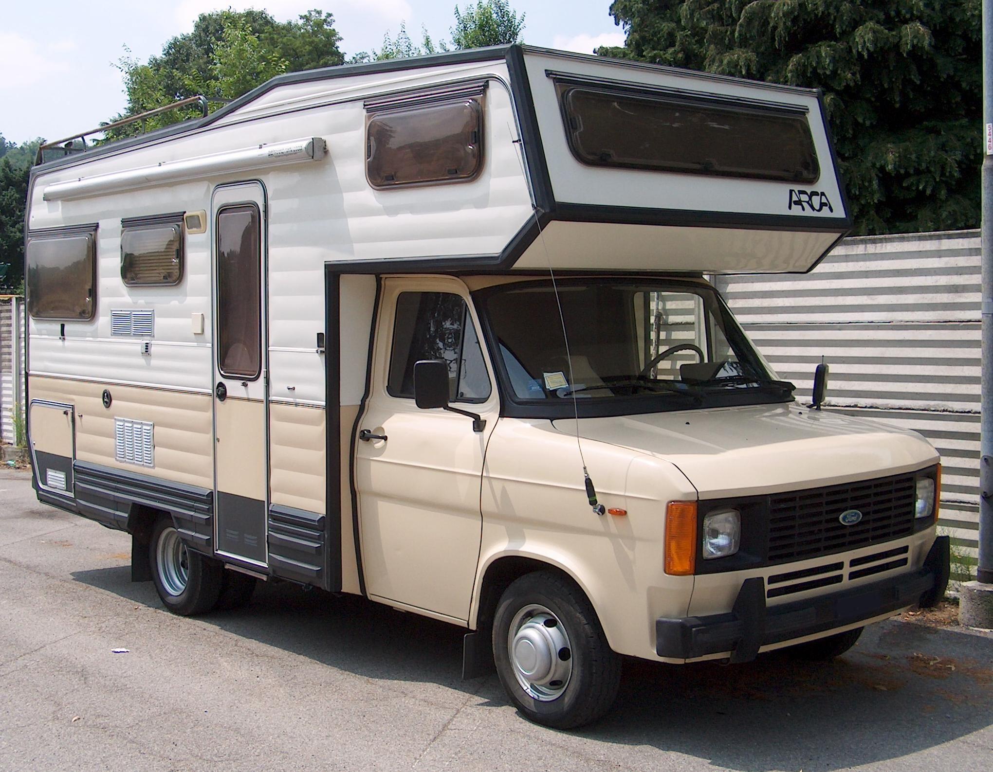 vendo camper arca america nomad pinterest ford. Black Bedroom Furniture Sets. Home Design Ideas