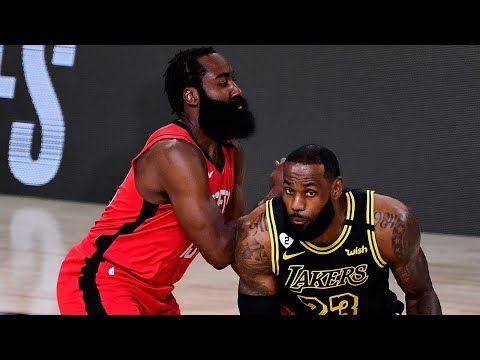 Los Angeles Lakers Vs Houston Rockets Game 2 Highlights Nba Playoffs 2020 In 2020 Lakers Vs Houston Rockets Los Angeles Lakers