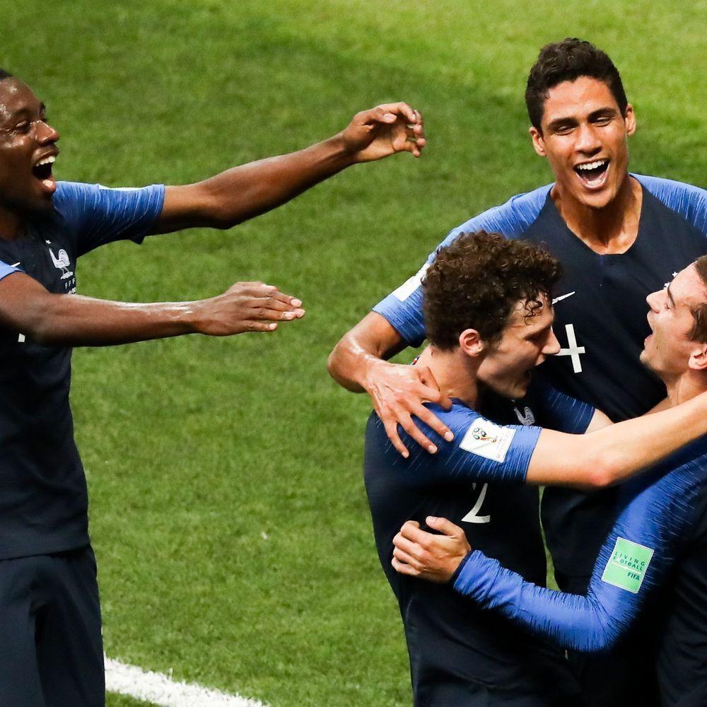 Revivez En Images La Victoire Des Bleus F F F France