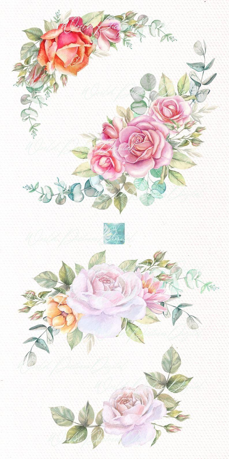 Rose Frame Clipart