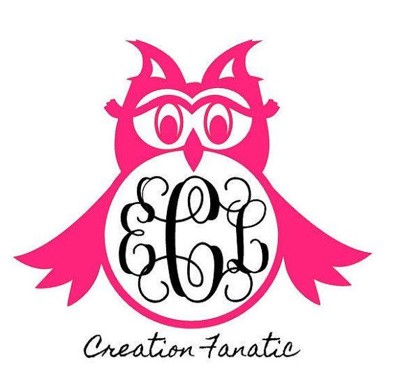 Owl Decal RTIC Vinyl Decal  Yeti Rambler  By CreationFanatic - Owl custom vinyl decals for car