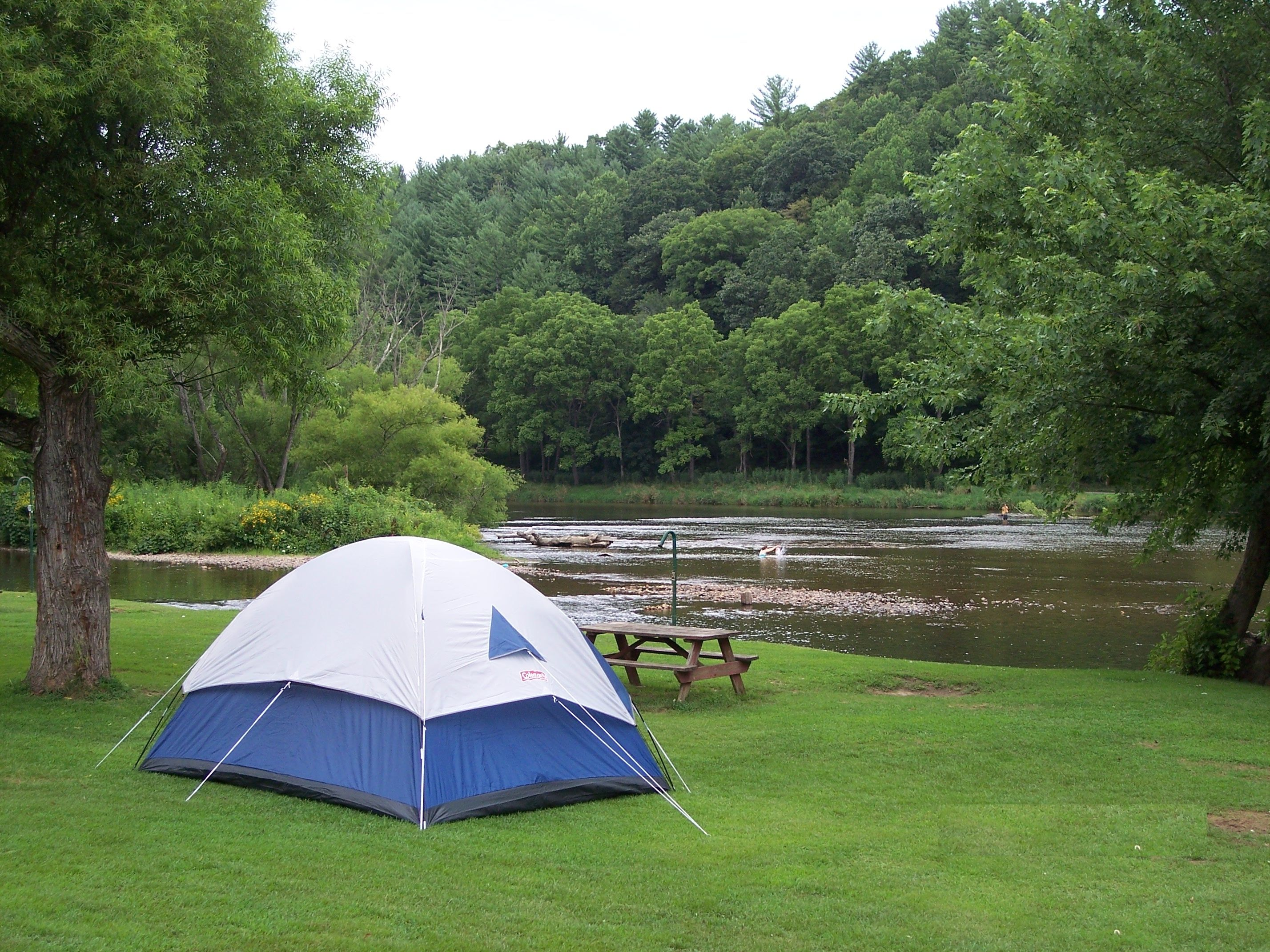 Travel Camping places, Kayaking, New river
