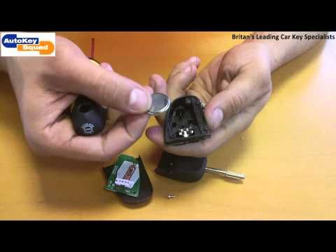 How To Replace Your Car Key Remote Fob Battery On Jaguar S Type