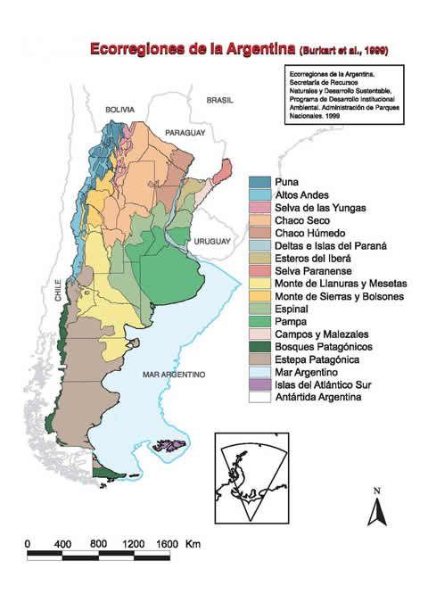 Ecorregiones de argentina sustentabilidad en los for Ambientes de argentina