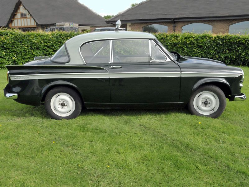 Sunbeam Rapier I love the proportions of this car. The white wheels ...