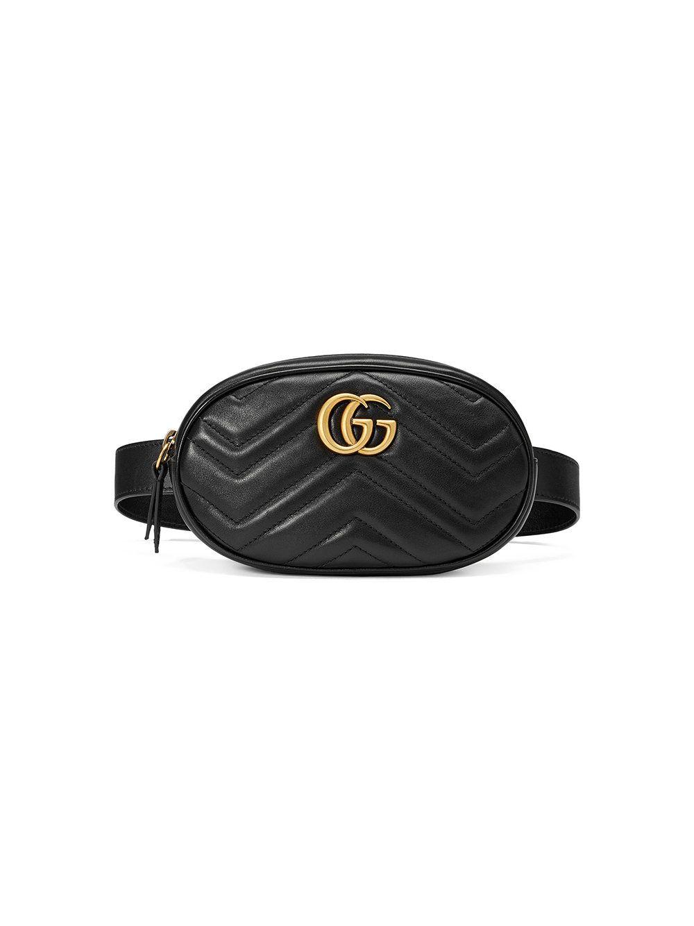 Gucci GG Marmont matelassé belt bag  25c5ccc7c81