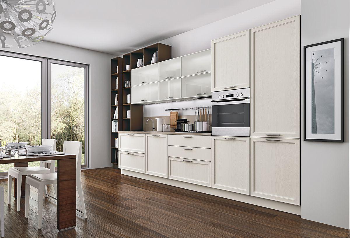 classico e moderno si sposano nella #cucina di Le Fablier a ...