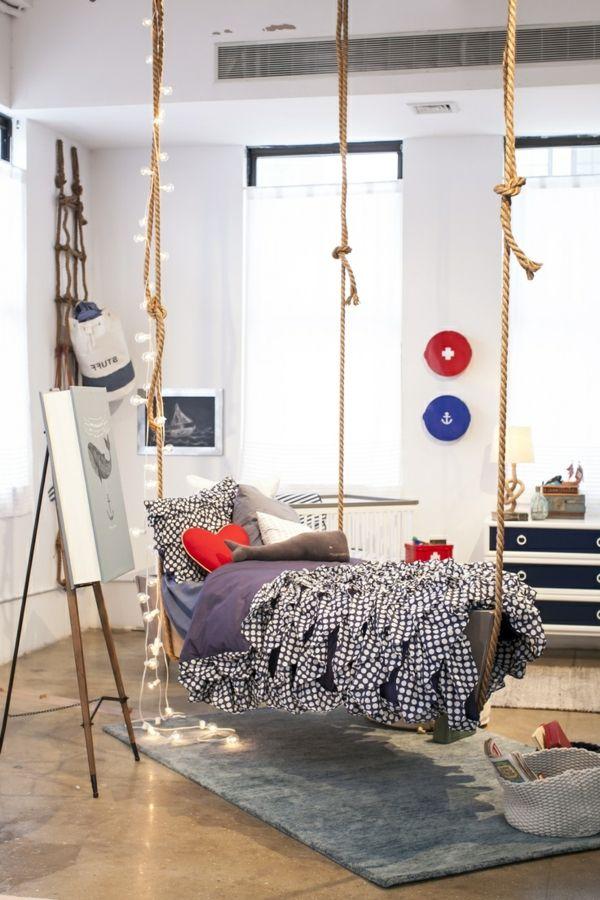 le lit suspendu et ses modifications diff rents children. Black Bedroom Furniture Sets. Home Design Ideas