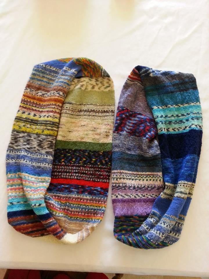 Photo of Übrig gebliebenes Sockengarn zum Stricken von Schals. Ein großes Dankeschön an alle, die das …