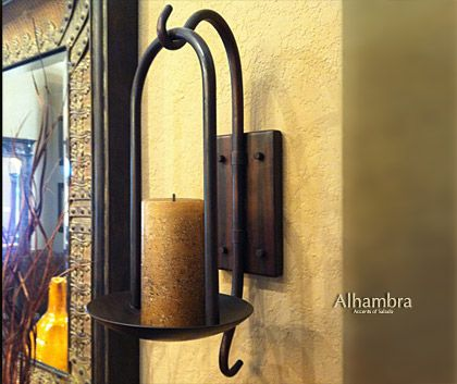 Decorative Wall Candle Sconces | These Are The Tuscan Kitchen Decor Wrought  Iron Wall Home Pictures