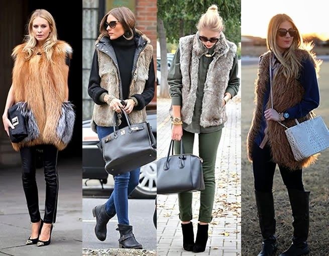 coat fashion 2014 | FUR VESTS ARE EVERYTHING!  I HAVE A FAUX ONE AND IT LOOKS AWESOME.