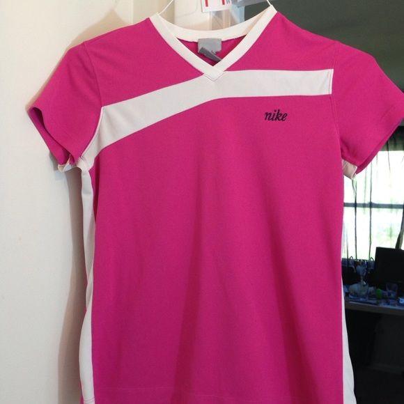 Nike Athletic Shirt Pink Nike Athletic Shirt. A few small