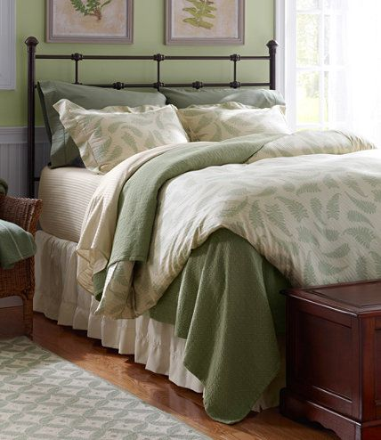 supima sateen comforter cover print comforter covers free shipping at llbean - Comforter Covers