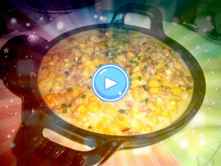 CORN with SMOKED BACON The Capital Grille Restaurant Copycat Recipe 2 sl  BBQ CREAMED CORN with SMOKED BACON The Capital Grille Restaurant Copycat Recipe 2 sl  BBQ CREAME...