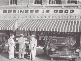 Arlington Businessmen Gather Downtown Arlington Texas Arlington Texas History