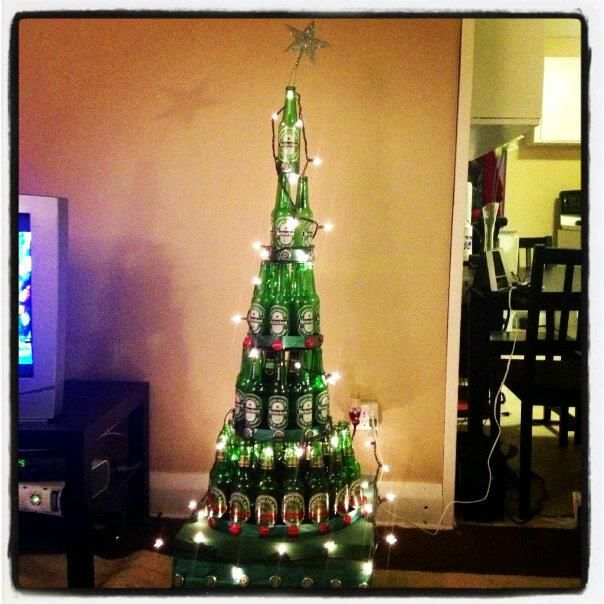 Begun The Christmas Tree War Has : The Protojournalist : NPR |2946 Beer Bottle Christmas Tree