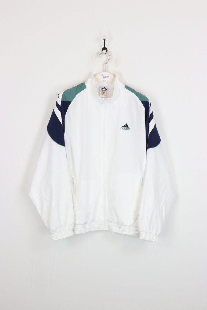 adidas shell giacca bianca xl vestiti pinterest completo