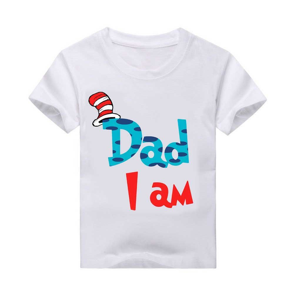 96b109f5 I am T-shirt. Any number can be designed Toddler Size chart youth size  chart adult size chart see our matching shirts: