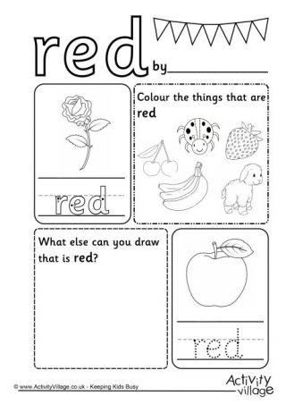 Colour Worksheets Color Worksheets Color Worksheets For Preschool Kindergarten Worksheets